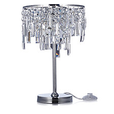 JM by Julien Macdonald Deco Collection Crystal Table Lamp