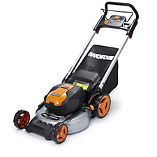 507842 - Worx 40v MAX Lithium-ion Metal Deck Lawn Mower