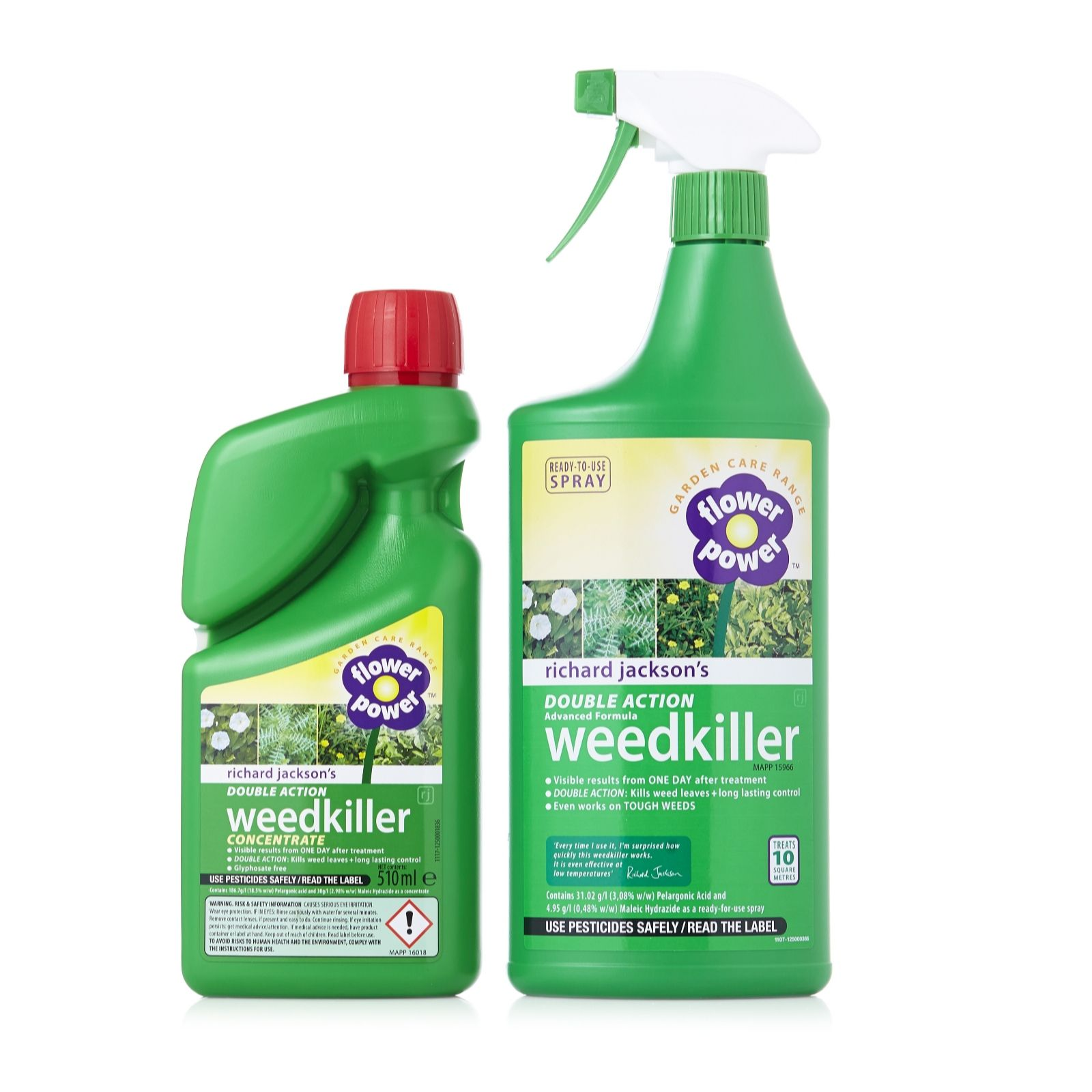 Richard Jacksonu0027s Weedkiller 510ml Concentrate With 1 Litre RTU Sprayer    QVC UK