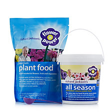 Richard Jackson's 775g Flower Power Premium Plant Food & 550g All Season Feed