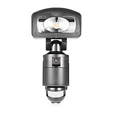 NightWatcher NE400 LED Security Light with HD Camera