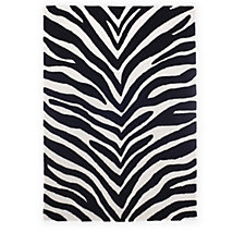JM by Julien Macdonald Safari Zebra Rug