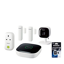 Panasonic Smart Home Monitoring & Control Kit with 4GB SD Card