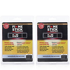 509045 - FixMeStick Set of 2 Lifetime Virus Removal Devices for 2 Windows PCs