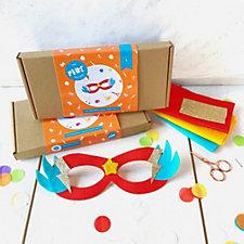 The Make Arcade Set of 2 Superhero Mask Kit