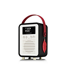 Lulu Guinness Retro Mini DAB/FM Radio & Bluetooth Speaker
