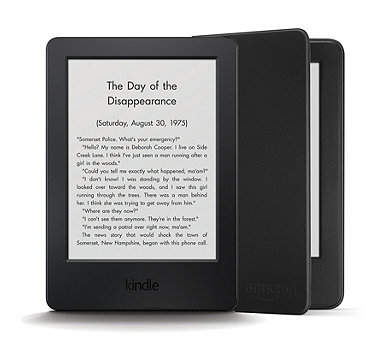 "Amazon Kindle 6"" WiFi eReader with Glare-Free Touch Display & Protective Case - 508048"