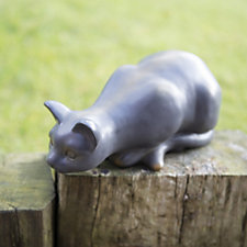 Home 2 Garden Resin Cat Garden Ornament