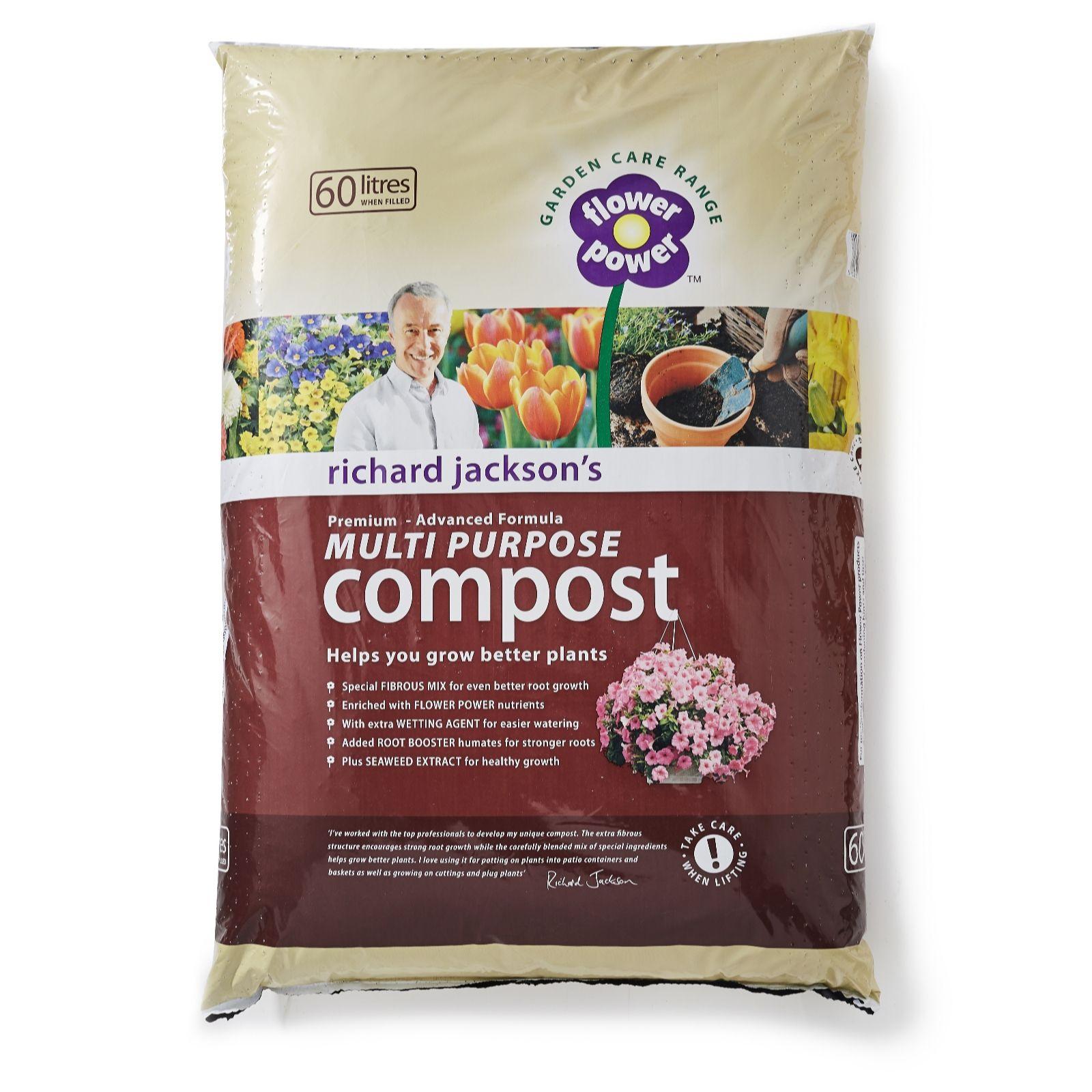 Richard Jacksonu0027s 60L Premium Advanced Formula Multi Purpose Compost    507651