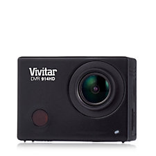 Vivitar Action Camcorder with WiFi Water Resistant Case & 8GB SD Card