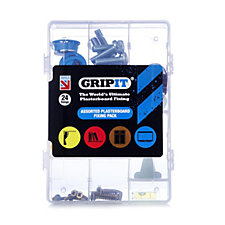 GripIt Assorted Plasterboard Fixing Pack