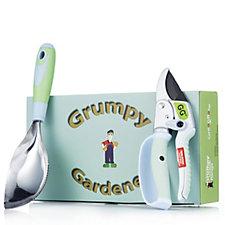Grumpy Gardener Little Digger & Secateurs Gift Set