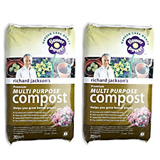 502955 - Richard Jackson's 2 x 70L Premium Multi Purpose Compost