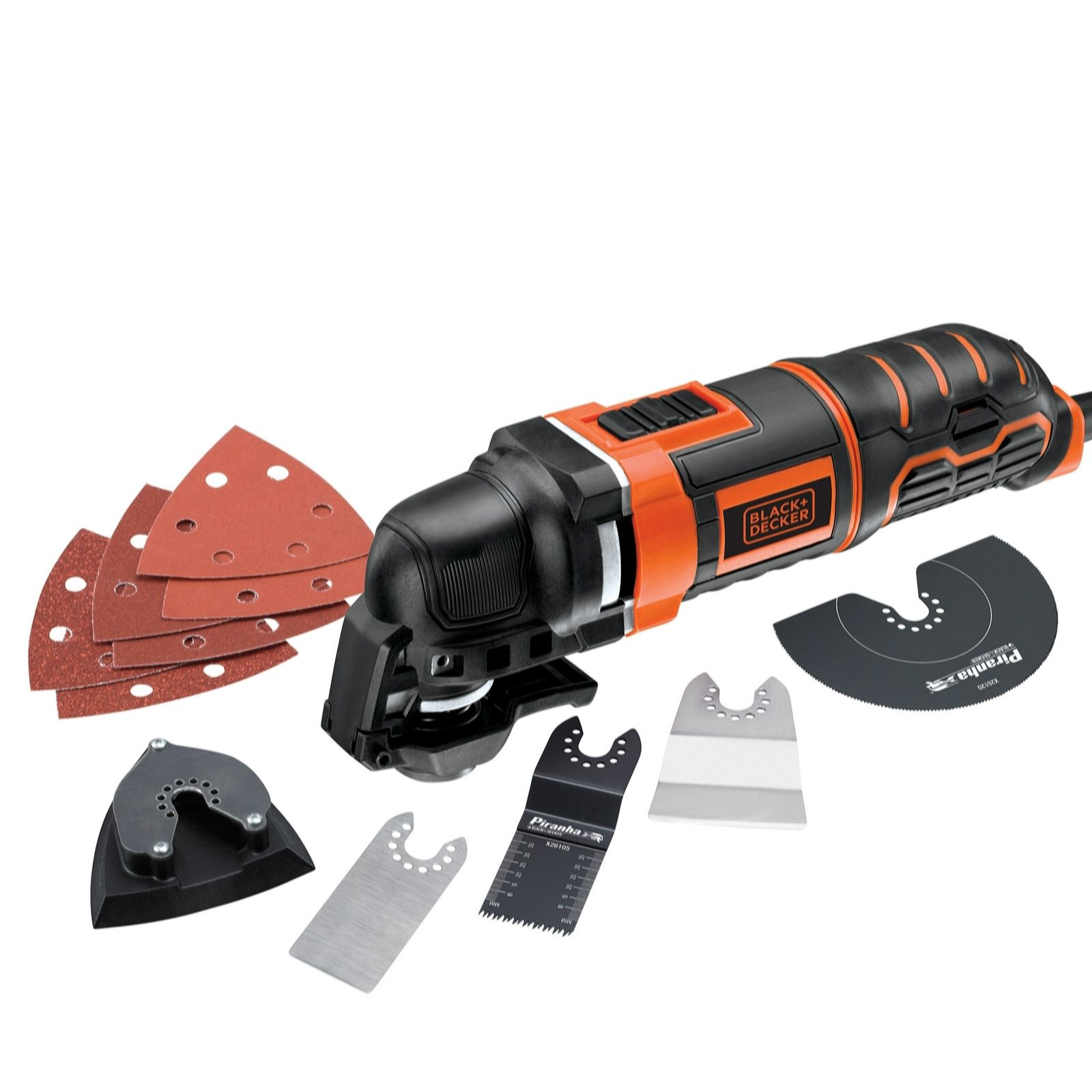 Black & Decker 300W Multi-Oscillating Tool With 12 Accessories - 507355