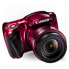Canon Powershot SX420 20MP Bridge Camera w/ WiFi, 42x Zoom Case & SD Card