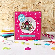 The Make Arcade Felt Gingerbread House Kit