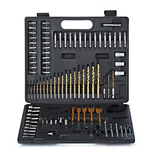 Dandy Tools 101 Piece Drills & Bits Set in Case