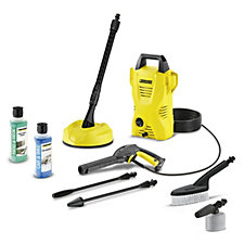 Karcher K2 Compact Car & Home Pressure Washer with Accessories