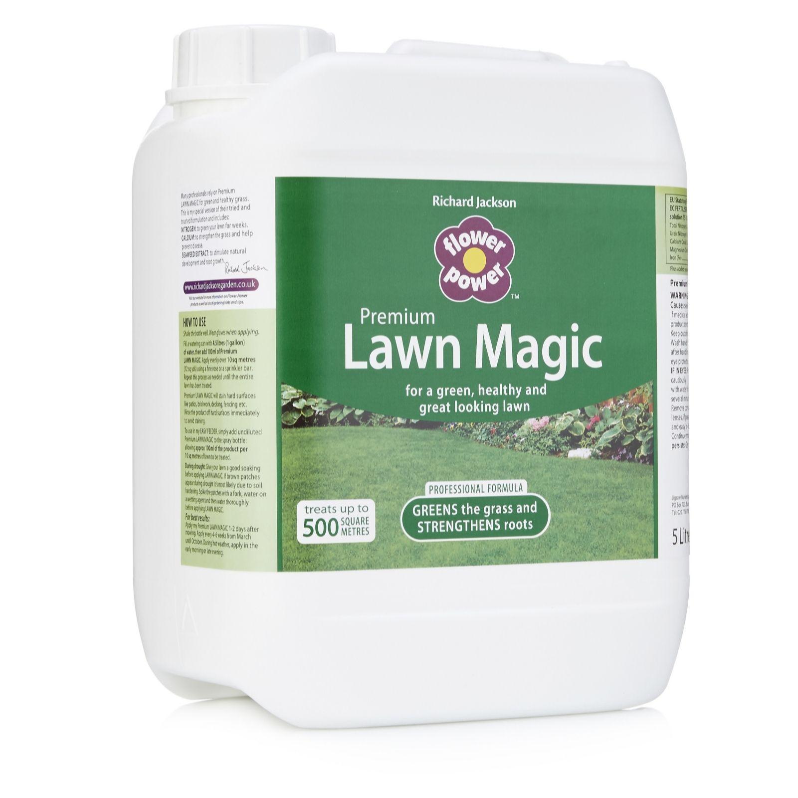 Elegant Richard Jacksonu0027s Lawn Magic 5 Litre Grass Feed   502957