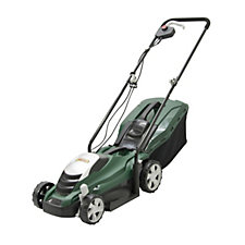 Webb Electric 1300W Rotary Lawn Mower with 35L Collection Box