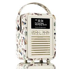 VQ Emma Bridgewater Retro Mini Kids Portable DAB/FM Radio w/ Bluetooth