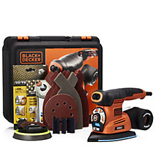 Black & Decker Autoselect 4-in-1 Multi Sander with 26 Accessories