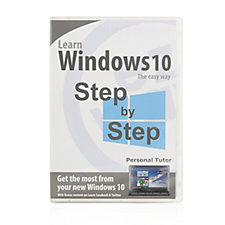 506961 - Ezway Learn Windows 10 Personal Tutor DVD