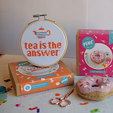 The Make Arcade Time for Tea Sewing Kit