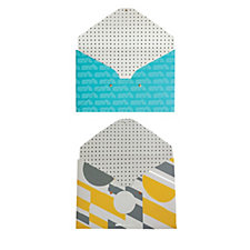 Mini Moderns Set of 2 A4 Document Wallets