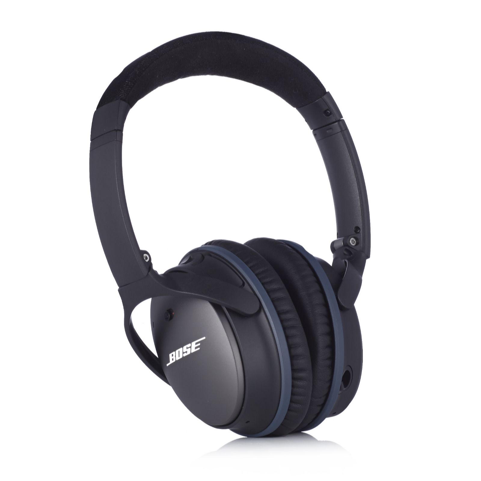 bose 25. bose quietcomfort 25 noise cancelling on-ear headphones for apple devices - page 1 qvc uk s