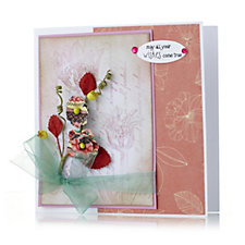 Outlet Prima Set of 8 Paper Spray Flowers