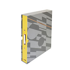 Mini Moderns Ringbinder with 6 Dividers & Storage Pocket