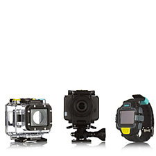 EE 4G HD Action Cam with Watch Viewfinder & Accessories