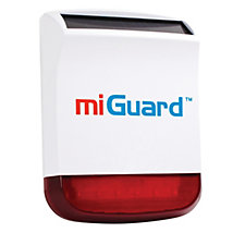 Response MiGuard Wireless Replica Siren with Red Lens