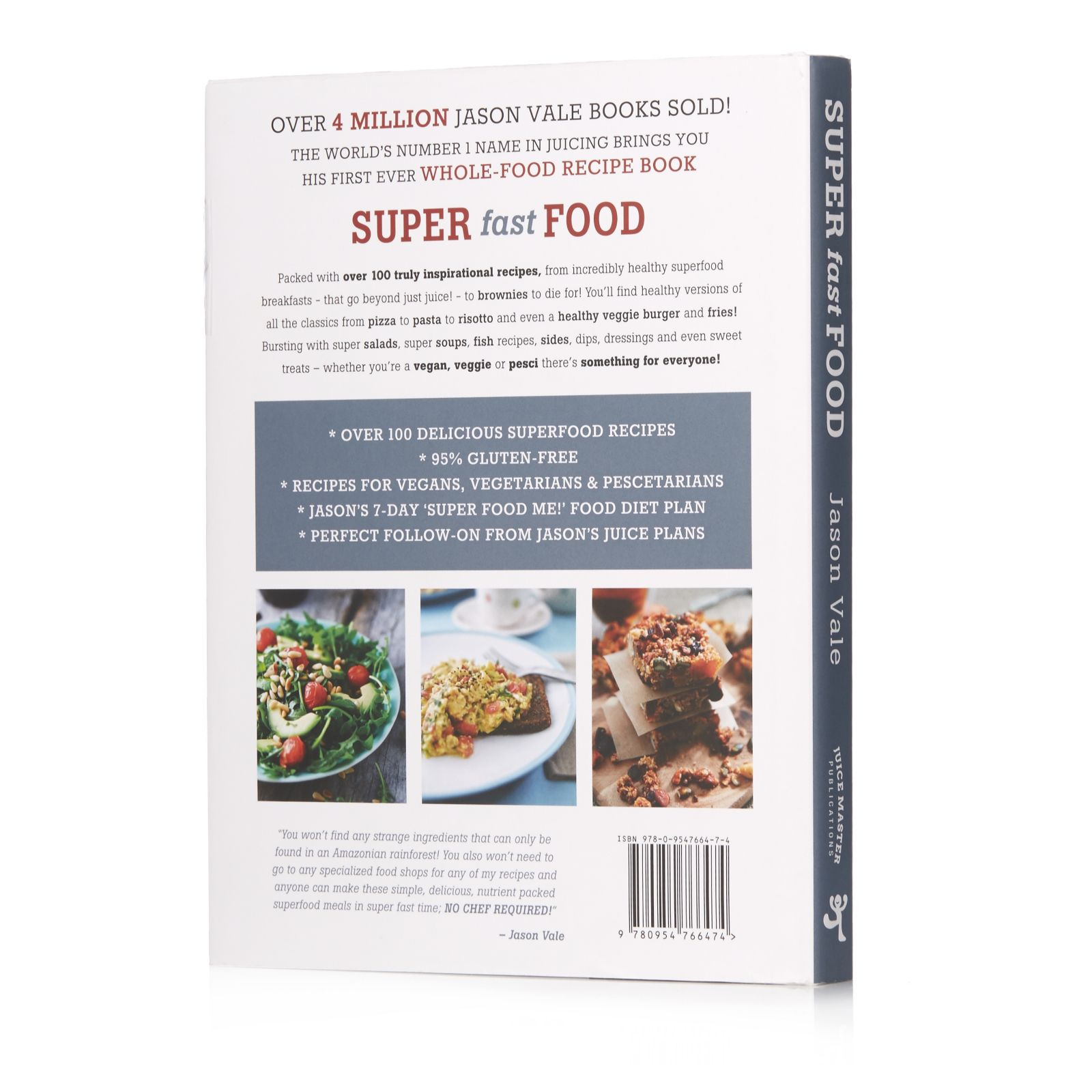 Super fast food no chef required by jason vale qvc uk forumfinder Gallery