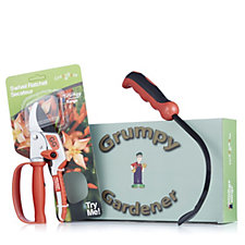 Grumpy Gardener Swivel Power Secateurs & Cultimate Weeder Set