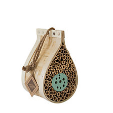 Wildlife World Dew Drop Bee & Bug House & Bird Nest Box