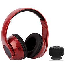 Cross X2 2 in 1 Foldable Headphones / Speakers with Bluetooth Speaker
