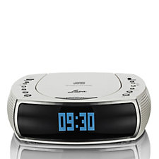 Lava Bedside Alarm Clock DAB/DAB Digital & FM Radio with CD Player