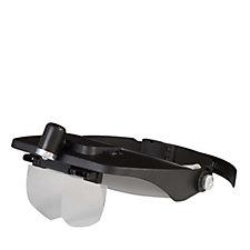 Light Craft Adjustable Headband LED Magnifier with 4 Lenses