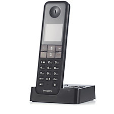 508365 - Philips DECT Cordless Phone with Caller ID & Answering Machine