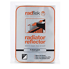 Radflek Pack of 3 Radiator Reflector Sheets