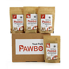 Pawbo Pack of 4 Assorted Cat Treats