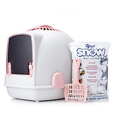 Igloo 2-in-1 Cat Carrier And Litter Tray