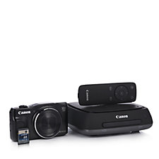 Canon SX710 20MP WiFi Camera with 30x Zoom 8GB SD Card & Connect Station