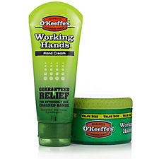 O'Keeffe's Working Hands Hand Cream Combo Pack