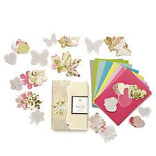 Anna Griffin Parchment 248 Piece Vellum Craft Embellishment Set