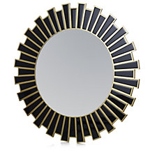 508475 - JM by Julien Macdonald Deco Collection Sunburst Round Mirror