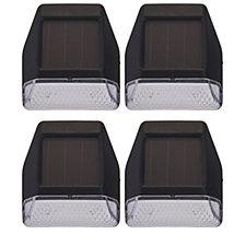 Luxform Set of 4 Solar LED Garden Step Lights