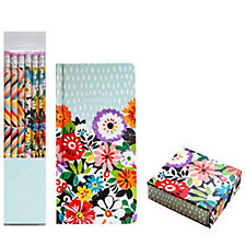 Collier Campbell Address Book Memo Block & Pencil Set